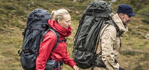 Hiking with the Fjällräven Kajka, the ideal trekking backpack