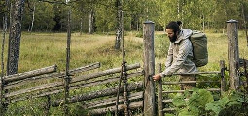 Countryside walking with the Fjällräven Splitpack