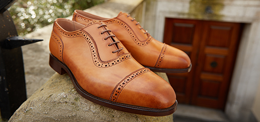 Tricker's Shoes, British Craftmanship and Quality