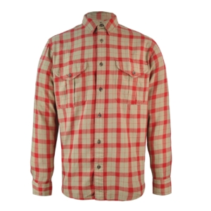 Filson Lightweight Alaskan Guide Shirt Khaki/Red