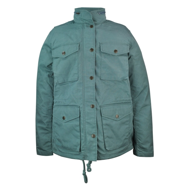 Fjallraven Womens Raven Jacket Frost Green