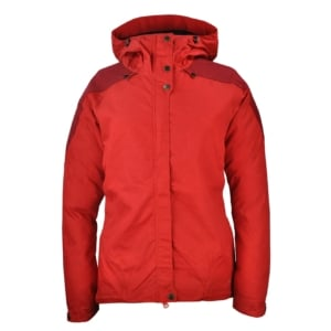 Fjallraven Womens Skogso Jacket Red/Ox Red