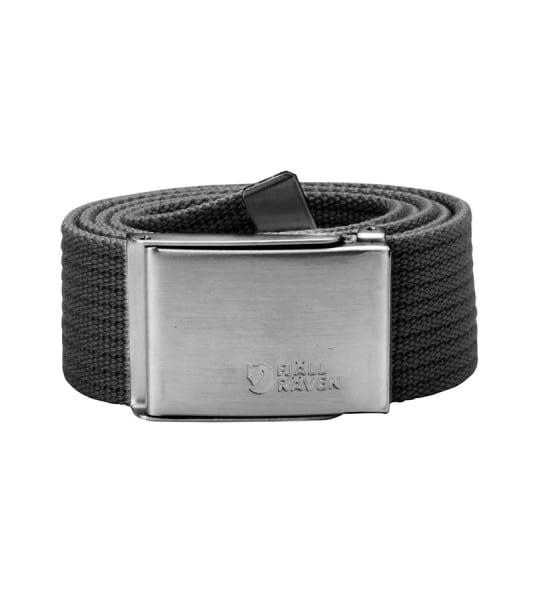 Fjallraven Canvas Belt Dark Grey