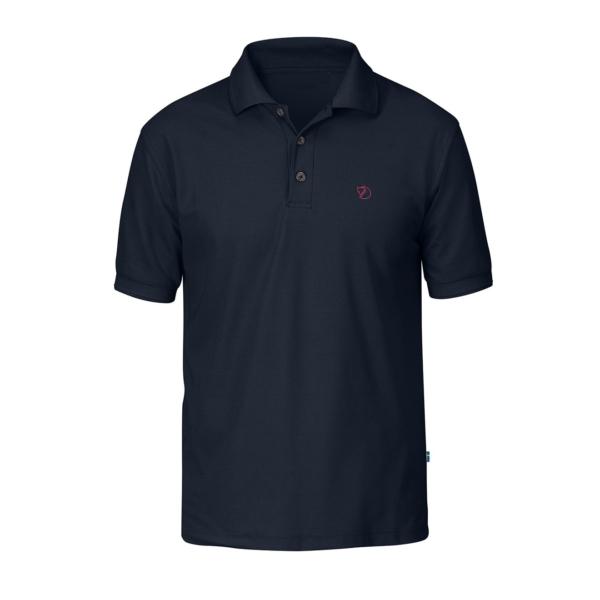 Fjallraven Crowley Pique Shirt Navy