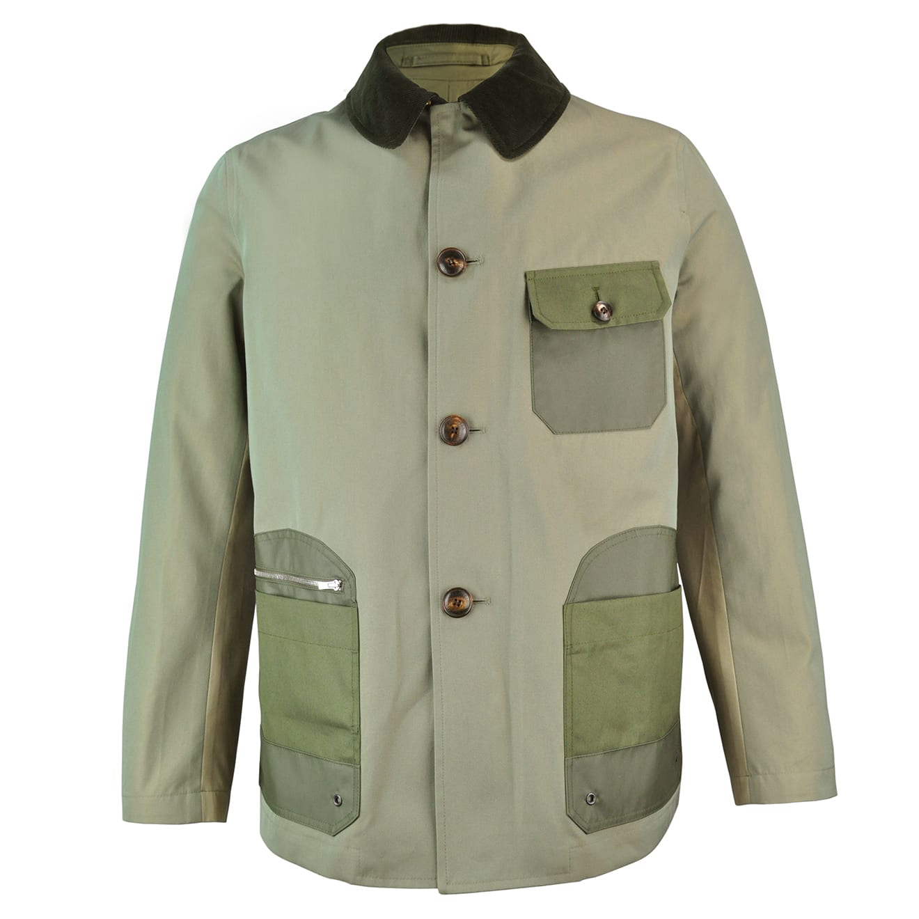 Grenfell Cloth Malham Jacket Green