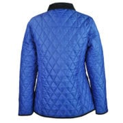 John Partridge Womens Moorland Quilted Jacket Blue