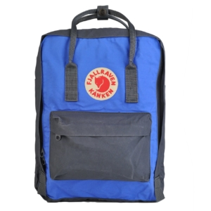 Fjallraven Kanken Classic backpack Graphite and UN Blue