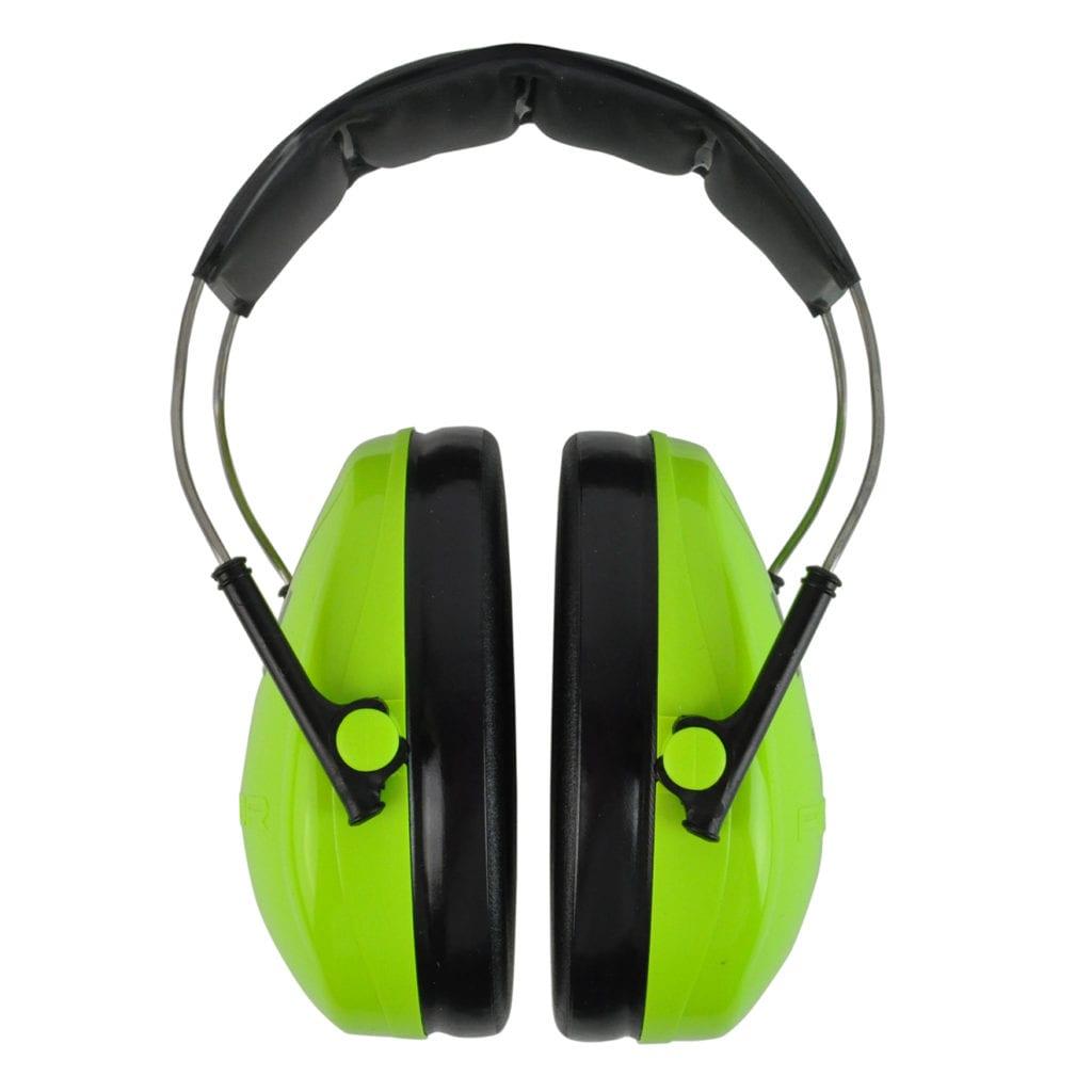 Peltor Kids Ear Defenders Green