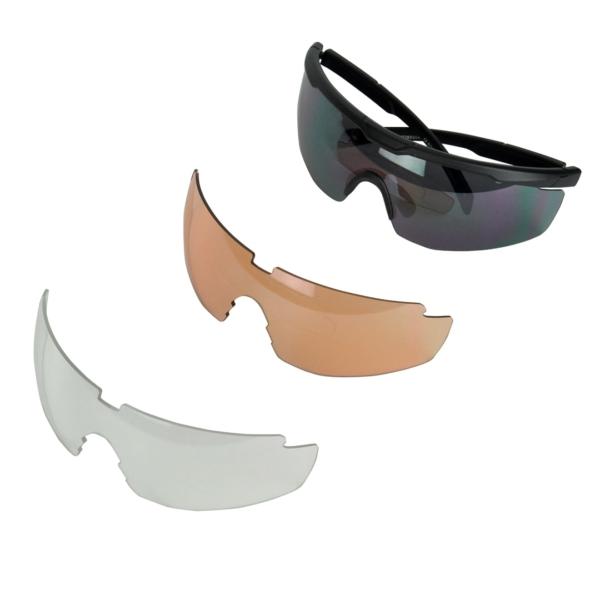 UVEX Sportstyle 117 Glasses Black