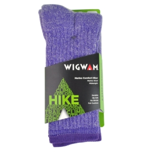 Wigwam Merino Comfort Hiker Socks Purple