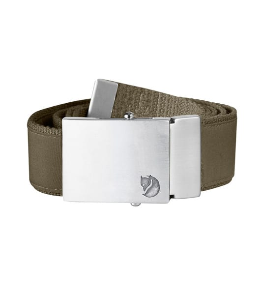 Fjallraven Canvas Money Belt Dark Olive