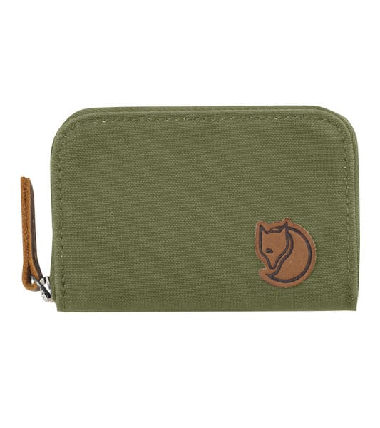 Fjallraven Zip Card Holder Green