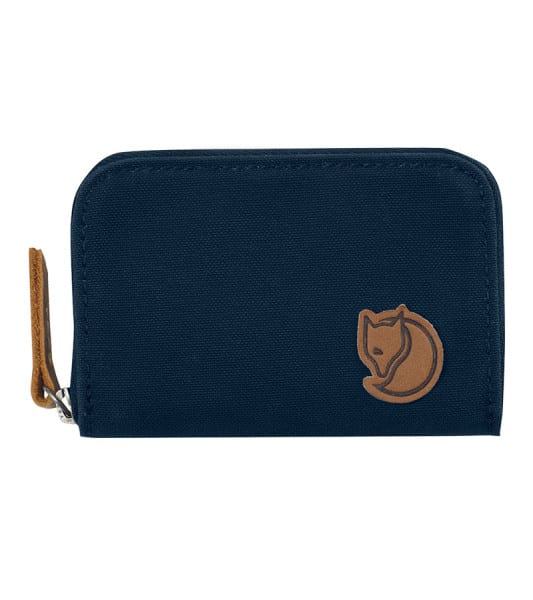 Fjallraven Zip Card Holder Navy