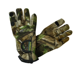 Garlands Neoprene Shooting Gloves Real Tree