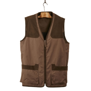 James Purdey Cotton Dove Vest Bark