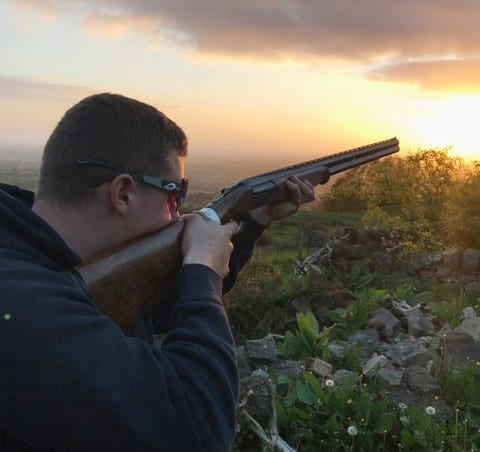 Fred Whitehurst, 17 year old shooting enthusiast