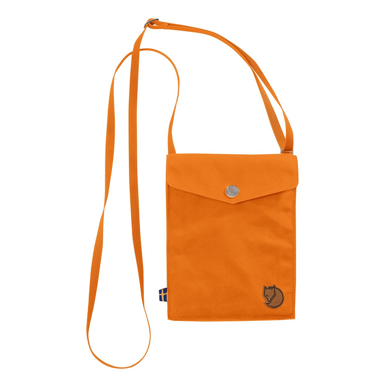 Fjallraven Pocket Shoulder Bag Seashell Orange