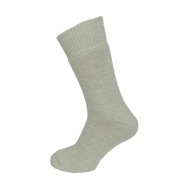 Macfarlaine all Terry Fleck Sock Light Silver