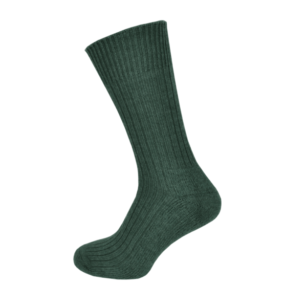 Macfarlaine Cushion Sole Socks Lovat Green