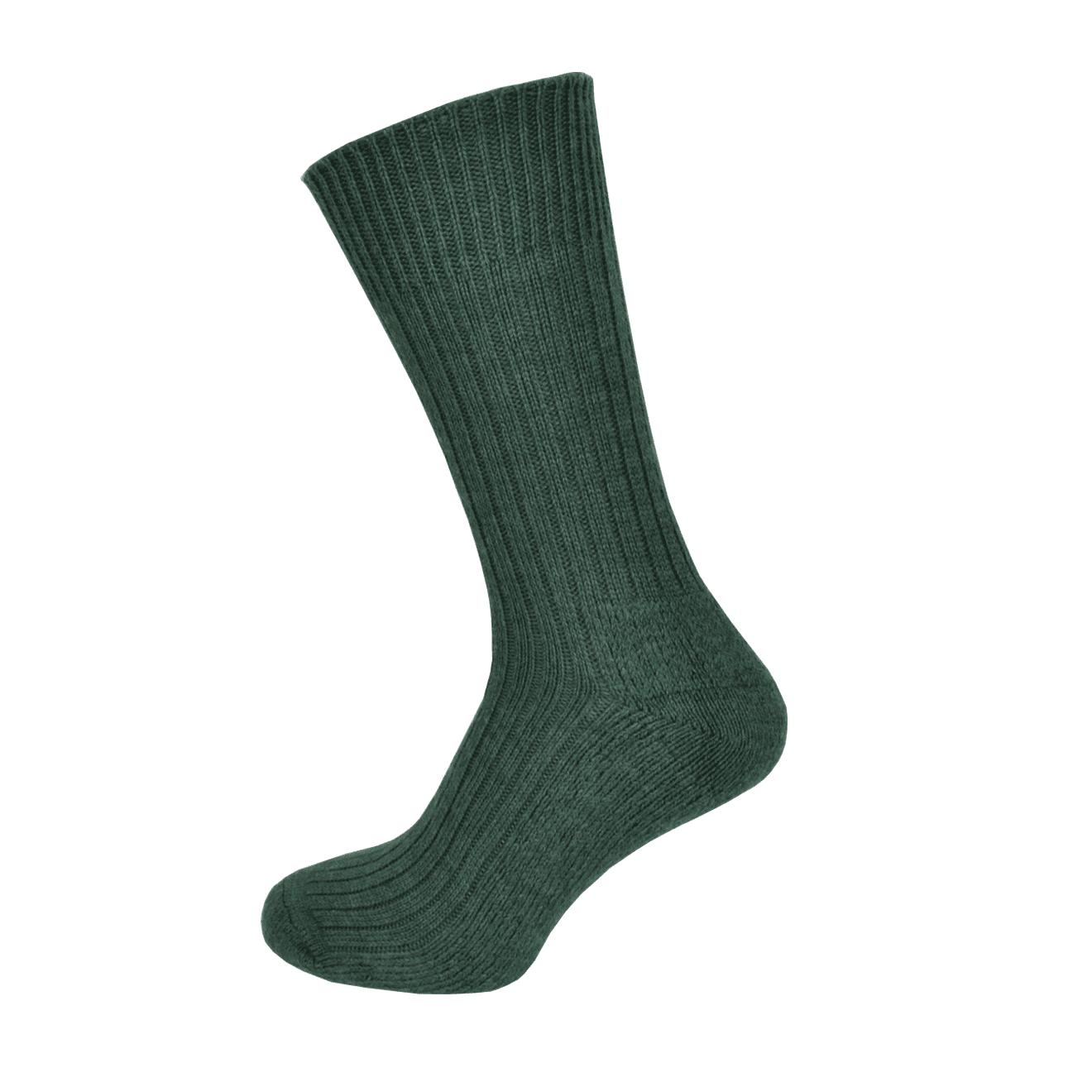 Macfarlaine Cushion Sole Socks Lovat Green