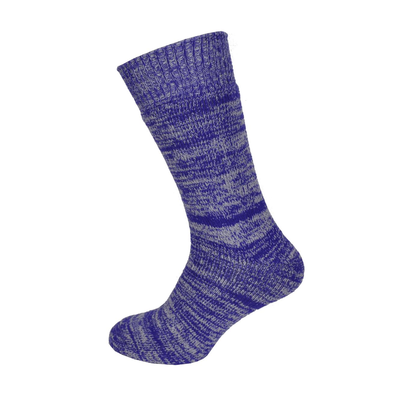 Macfarlaine all Terry Fleck Sock Purple