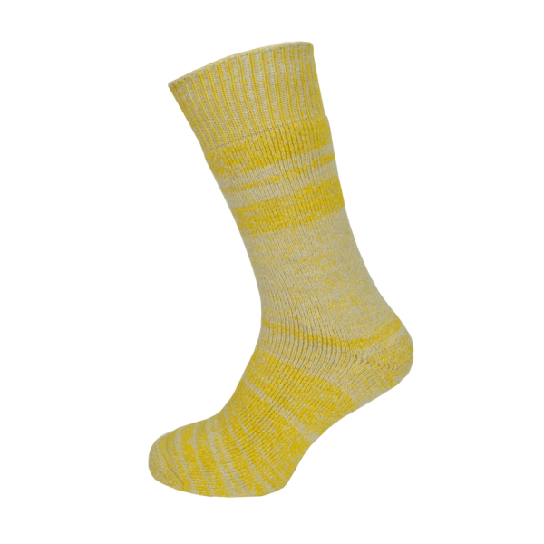 Macfarlaine all Terry Fleck Sock Yellow