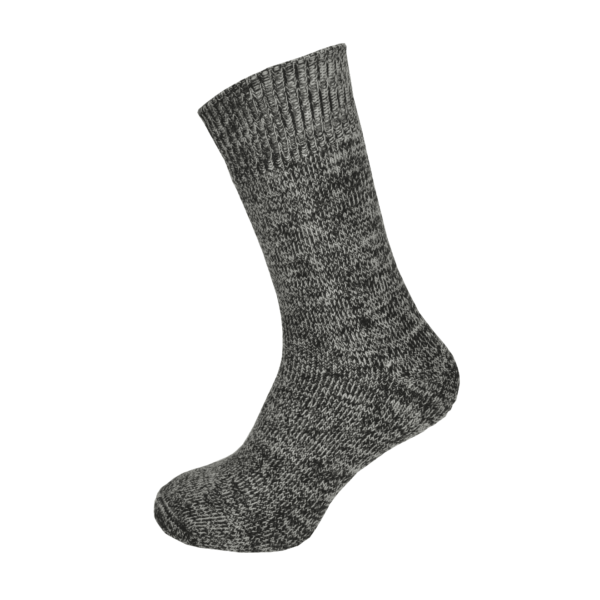 Macfarlaine all Terry Fleck Sock Chocolate
