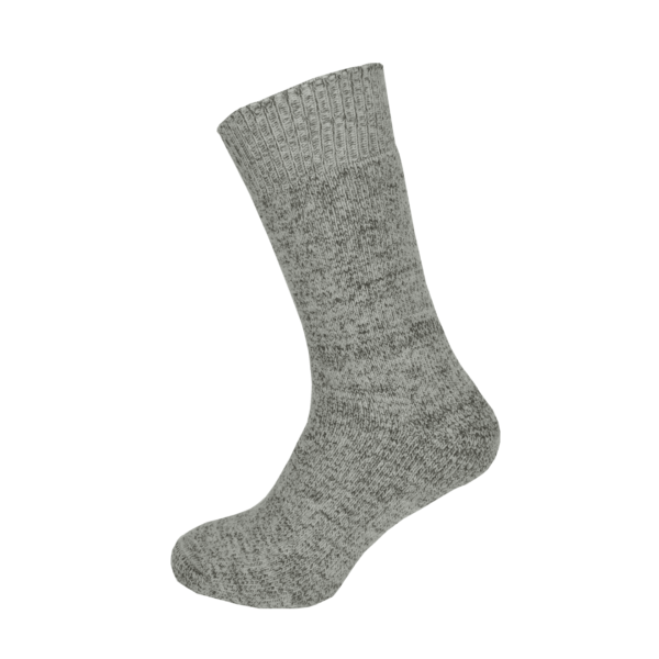 Macfarlaine all Terry Fleck Sock Grey / Brown