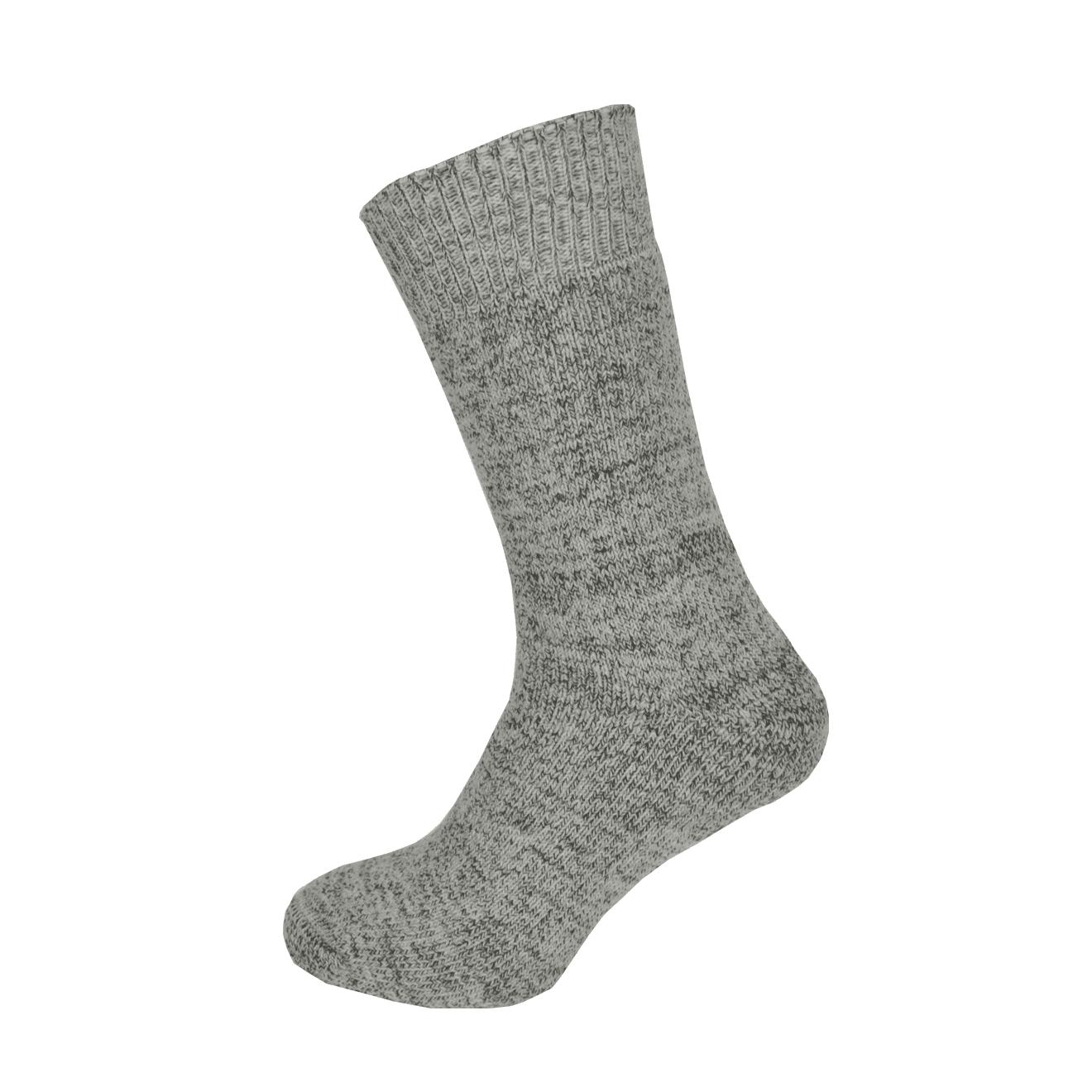 Macfarlaine all Terry Fleck Sock Grey / Brown