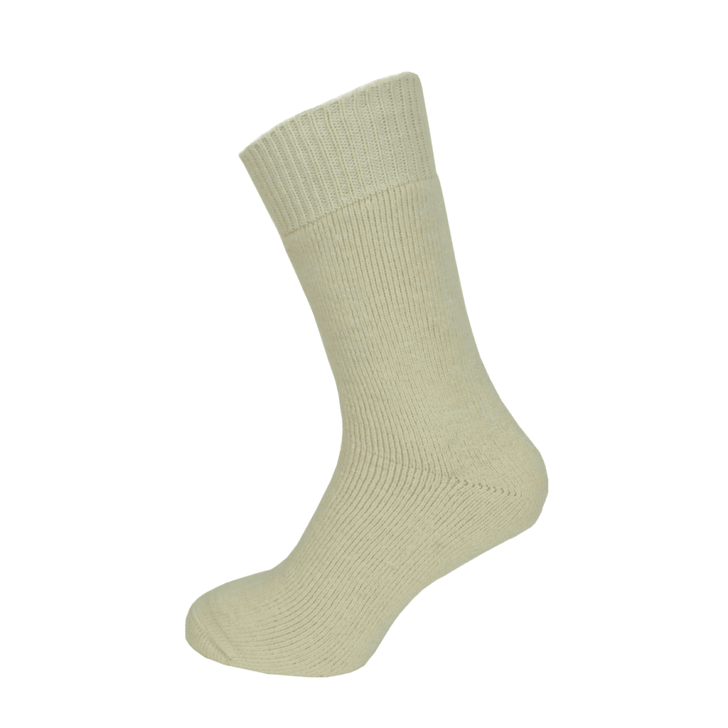 Macfarlaine all Terry Fleck Sock Off White