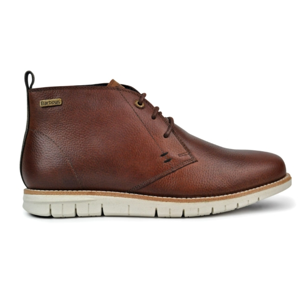 Barbour Mens Burghley Boots Wine
