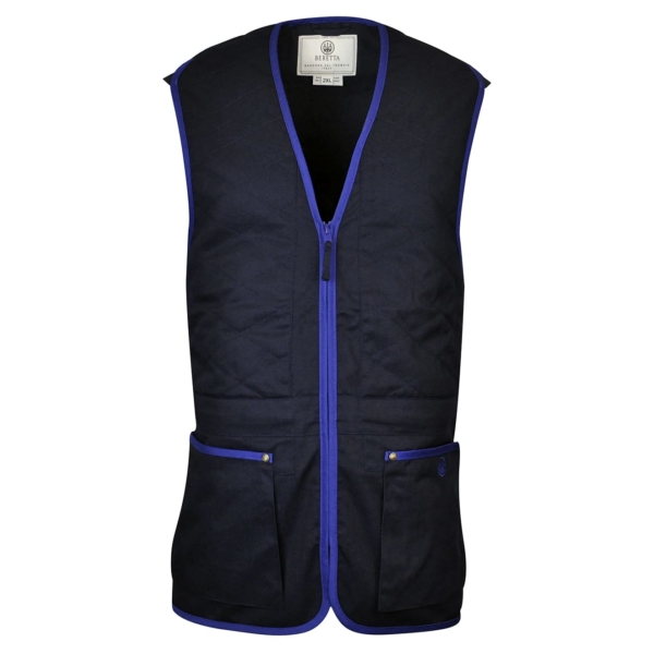 Beretta Unisex Trap Shooting Vest Navy / Beretta Blue