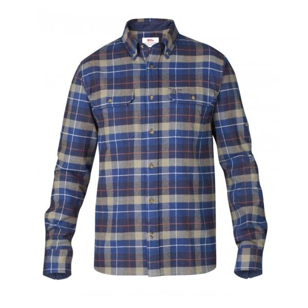 Fjallraven Singi Heavy Flannel Shirt Navy