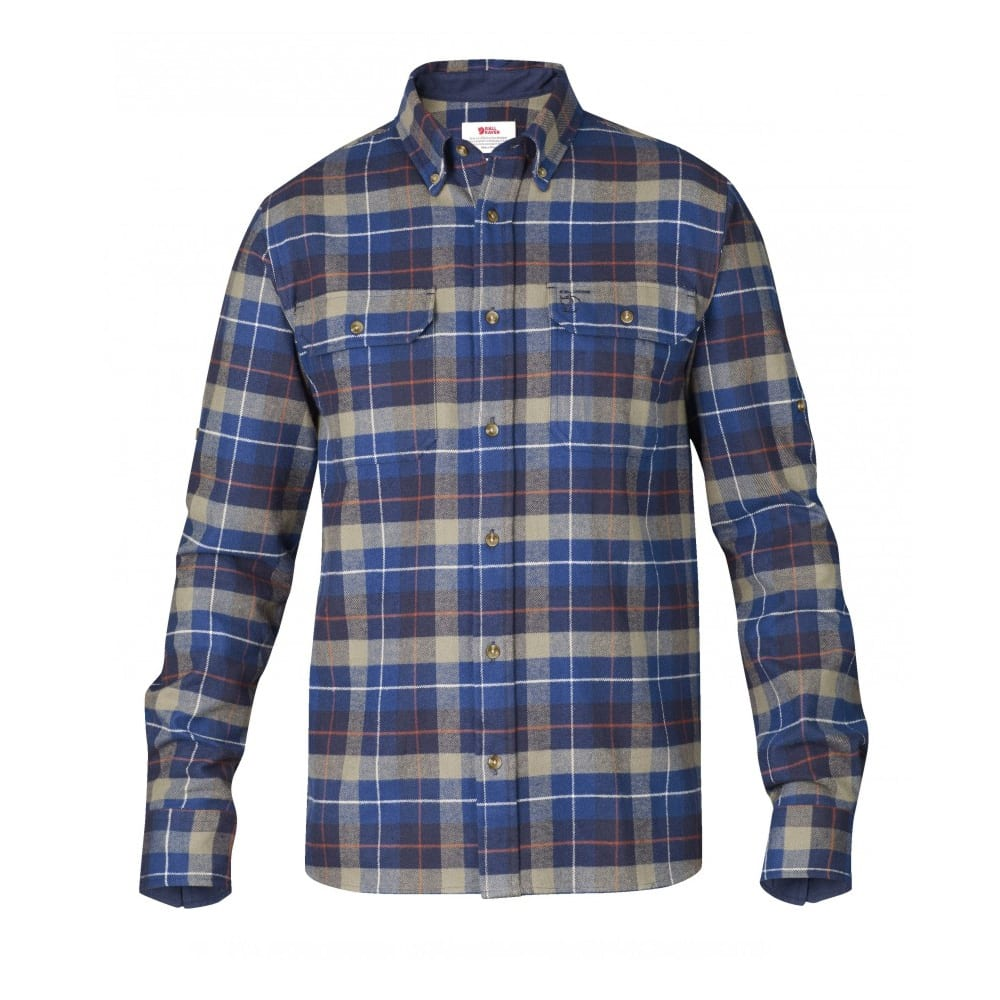 Fjallraven singi heavy flannel shirt the sporting lodge for Places to buy flannel shirts