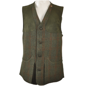 James Purdey Mens Tweed Shooting Vest