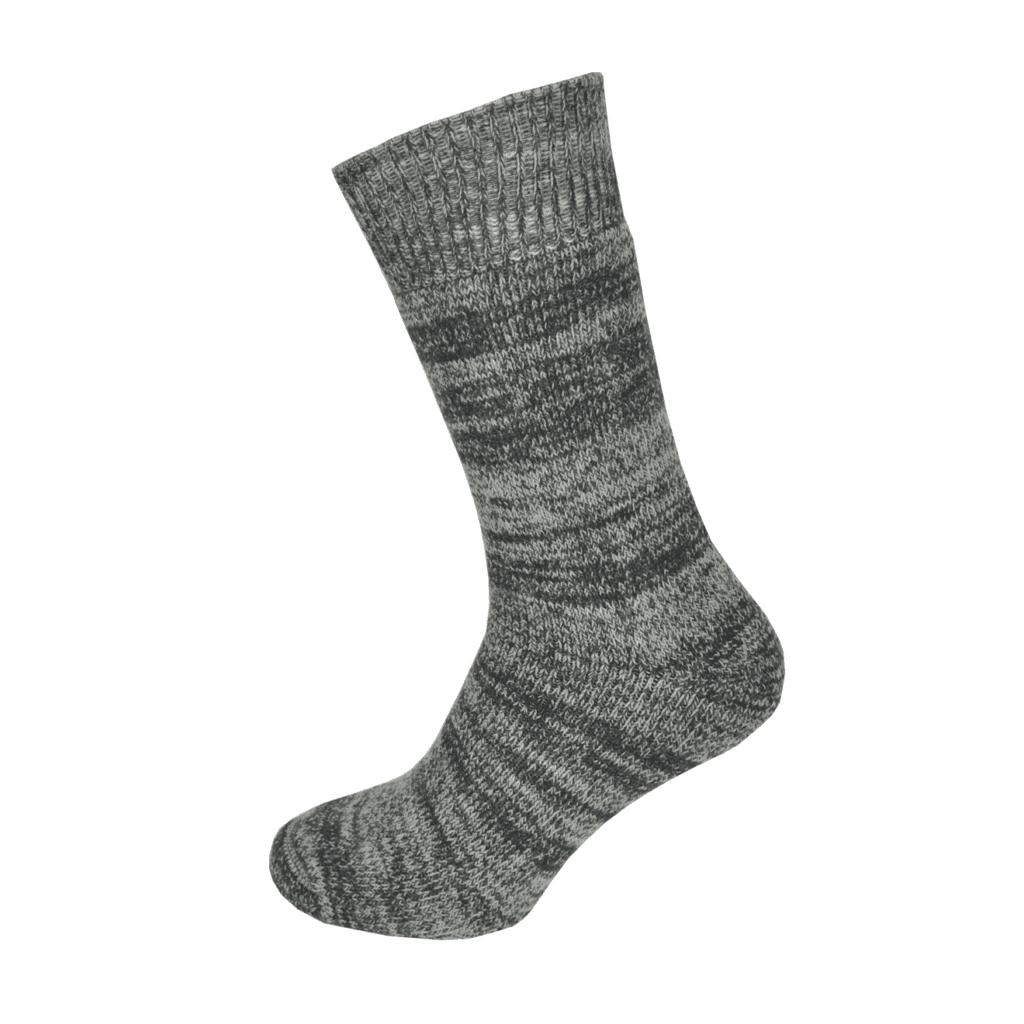 Macfarlaine all Terry Fleck Sock Charcoal