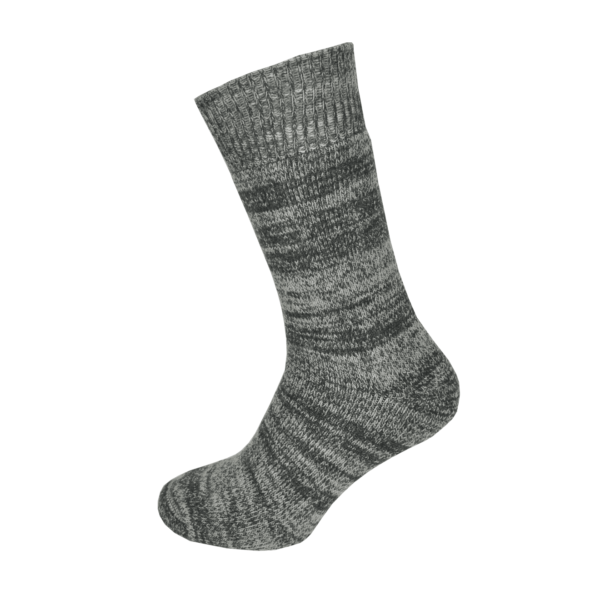 Macfarlaine all Terry Fleck Sock Charcoal