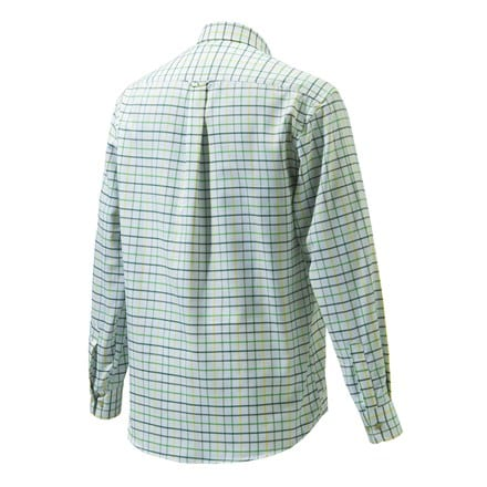 Beretta Classic Shirt Green, White & Yellow Check