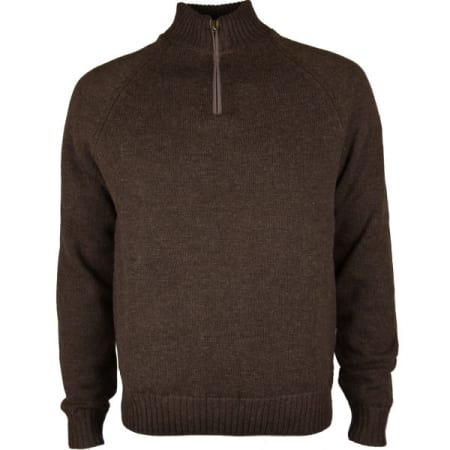 Beretta Technowindshield Half Zip Sweater Brown
