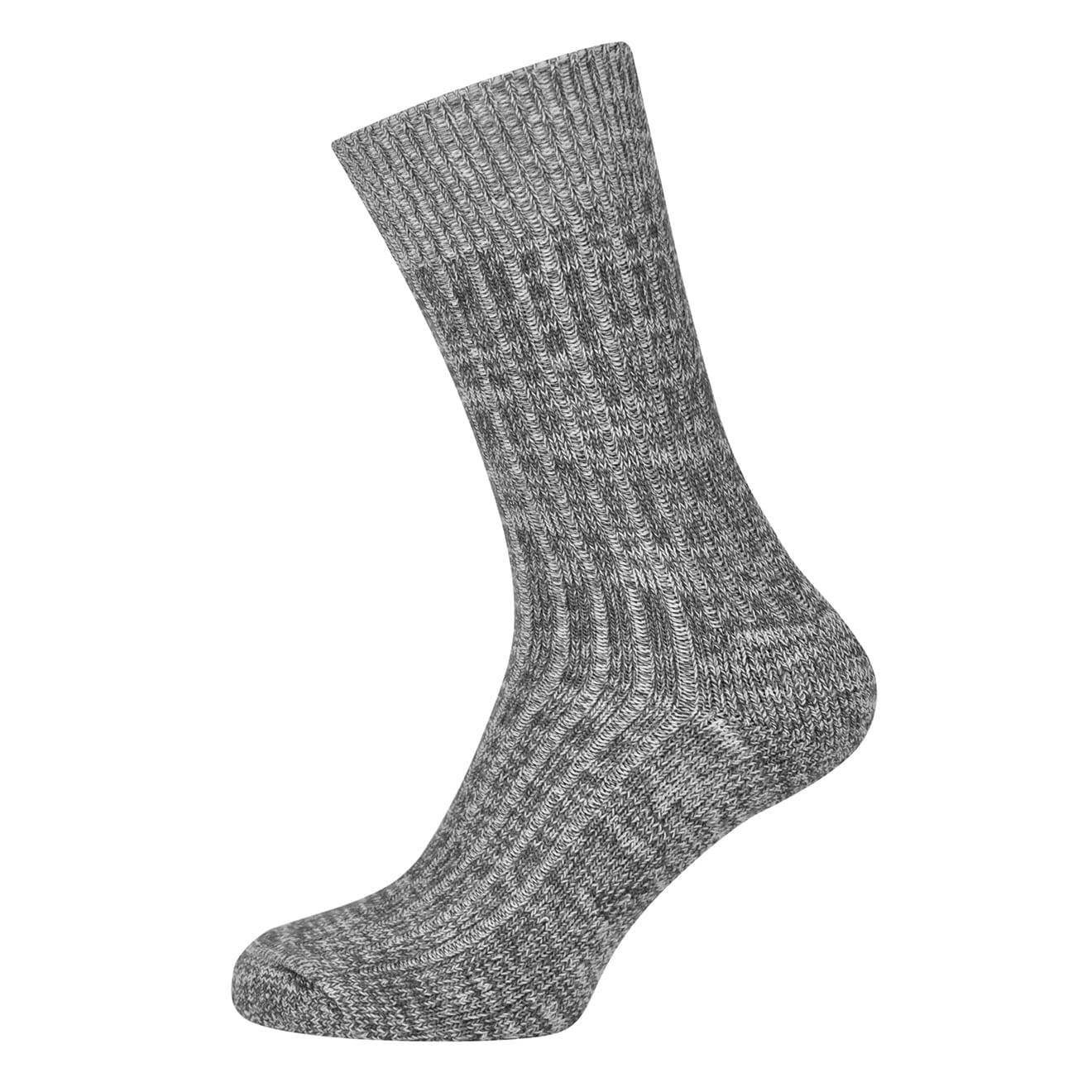 Macfarlaine Cushion Sole Fleck Socks Grey / Air