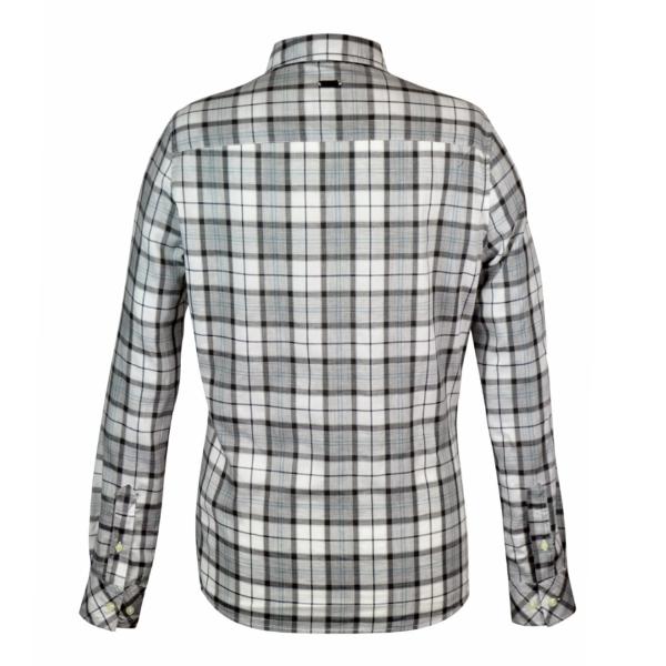 Barbour Linton shirt grey tartan