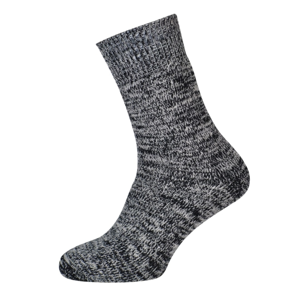 Macfarlaine all Terry Fleck Sock Black