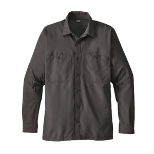 Patagonia Mens Lightweight Field Shirt Forge Grey
