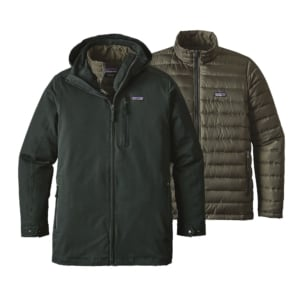 Patagonia Mens Tres 3-in-1 Parka Carbon