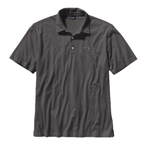 Patagonia Mens Trout Fitz Roy Polo Forge Grey