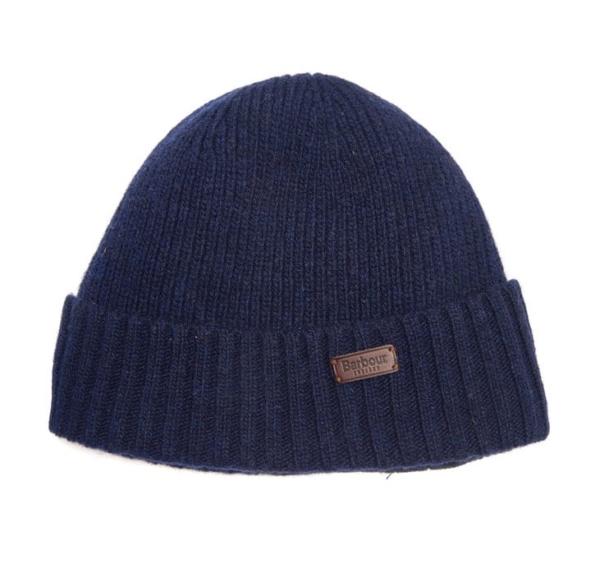 Barbour Carlton Beanie Hat Navy