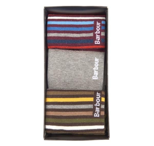 Barbour Heywood 3 Pack Socks