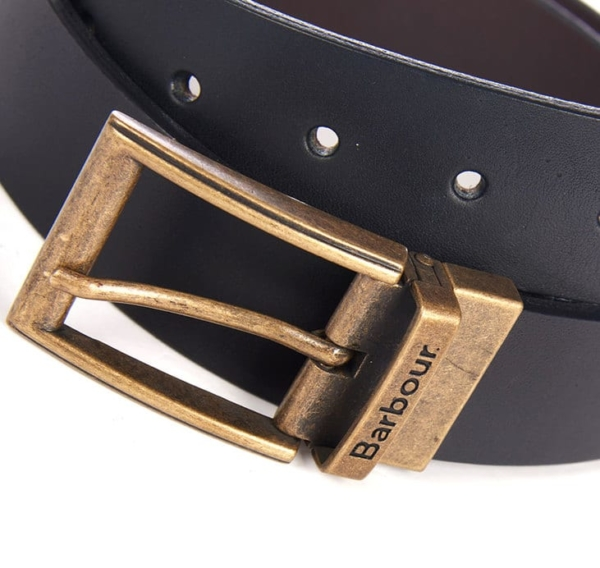 Barbour Reversible Leather Belt 2