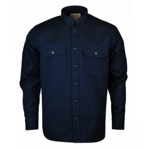 Filson 6oz Drill Chino Shirt Storm Navy