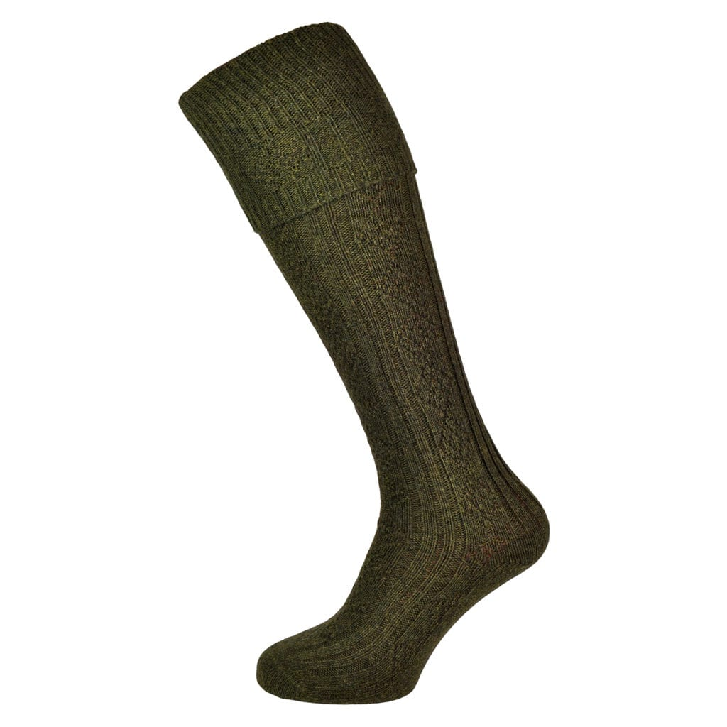 Barbour Tweed gun sock derby tweed